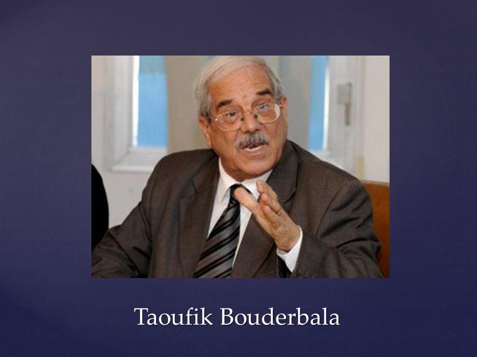 Taoufik Bouderbala