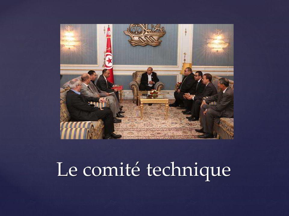 Le comité technique