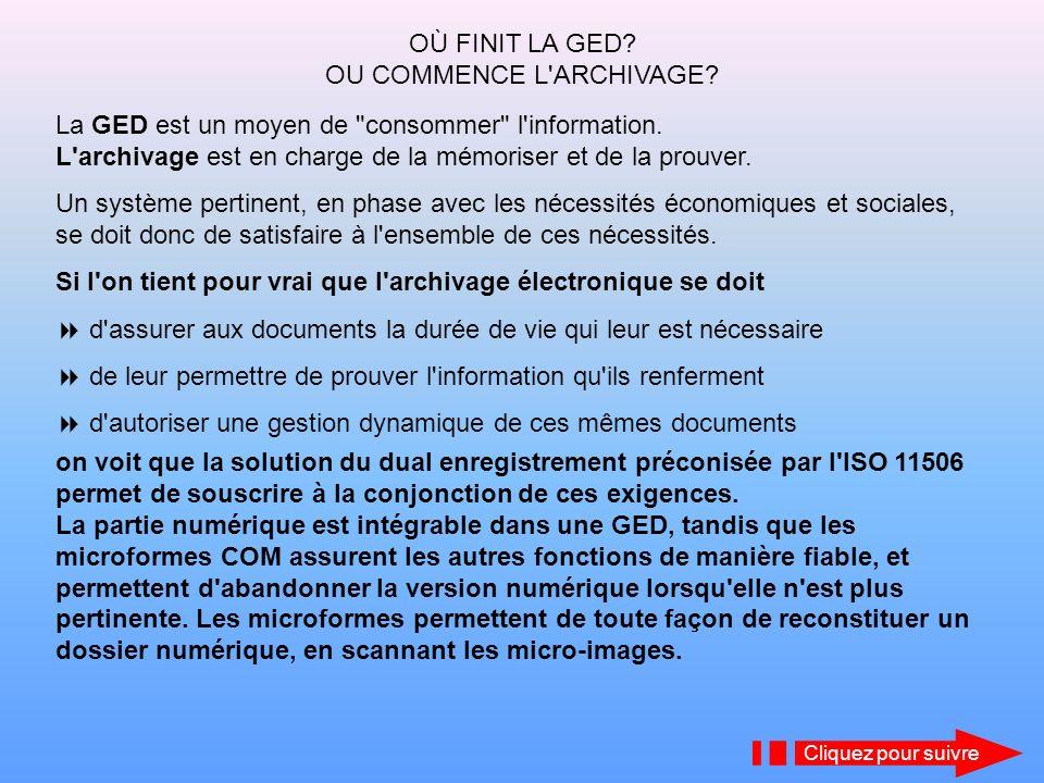 La norme française NF Z 43-400 a donné naissance à la norme ISO 11506 après seulement 16 mois de travaux, alors qu une norme internationale met entre 3 et 5 ans habituellement.