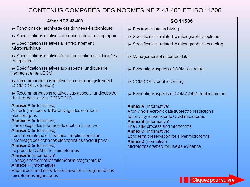 LA MICROGRAPHIE INFORMATIQUE Documents numériques natifs (PDF, TIFF, imagerie, photos…) Documents sur papier Cliquez pour suivre