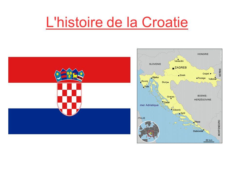 L'histoire de la Croatie