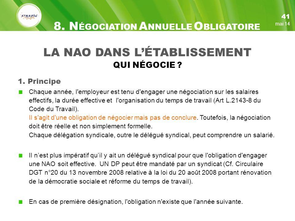 LA NAO DANS LÉTABLISSEMENT QUI NÉGOCIE .1.