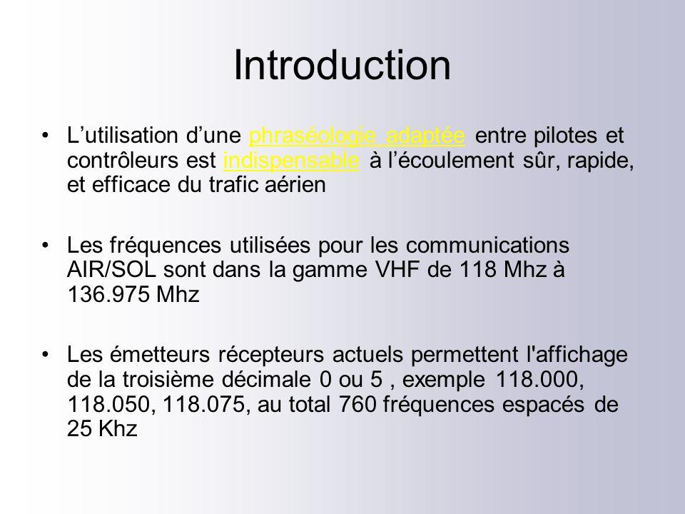 Principes généraux Technique: –Attendre que la fréquence soit libre –Messages brefs & concis –Prononcer chaque mot clairement et distinctement –Cadence régulière et adaptée –Ton de la voix constant