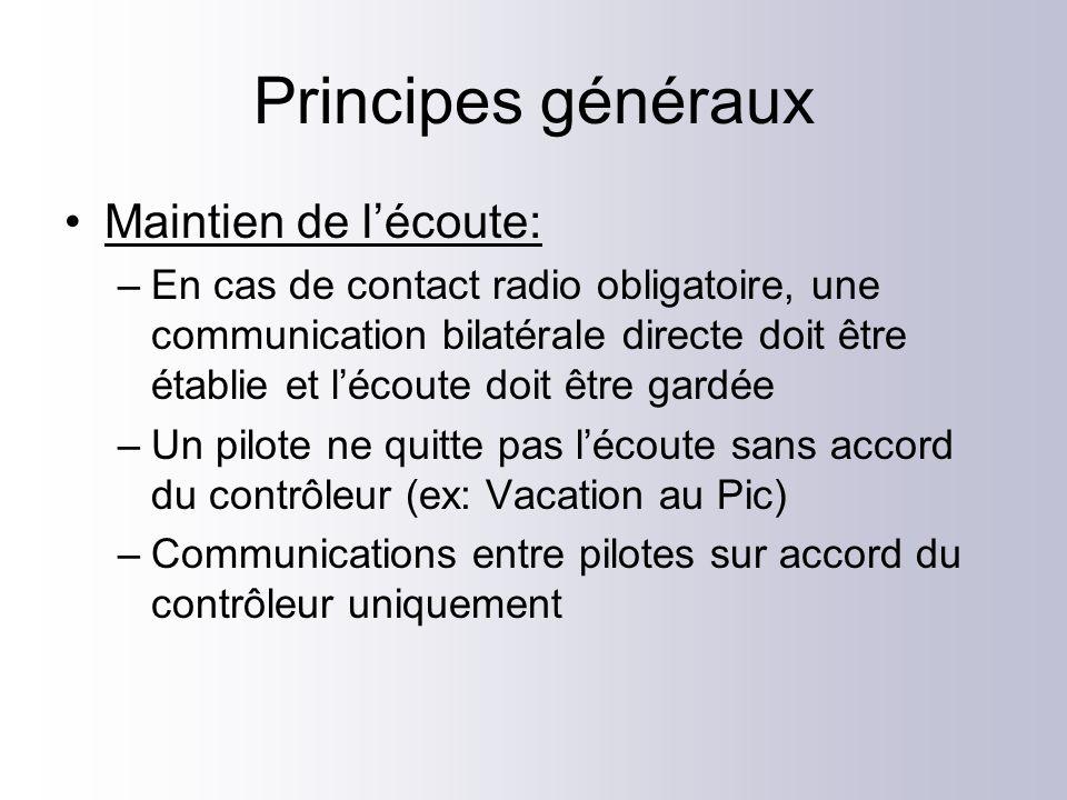 Exemple de transit (2) Montpellier Bonjour, FCGGE, planeur provenance et destination Saint Martin de Londres, 1 personne à bord, 7000ft en montée, 4NM SO des installations de MILLAU, pour monter au 95 et transiter vers le NE.