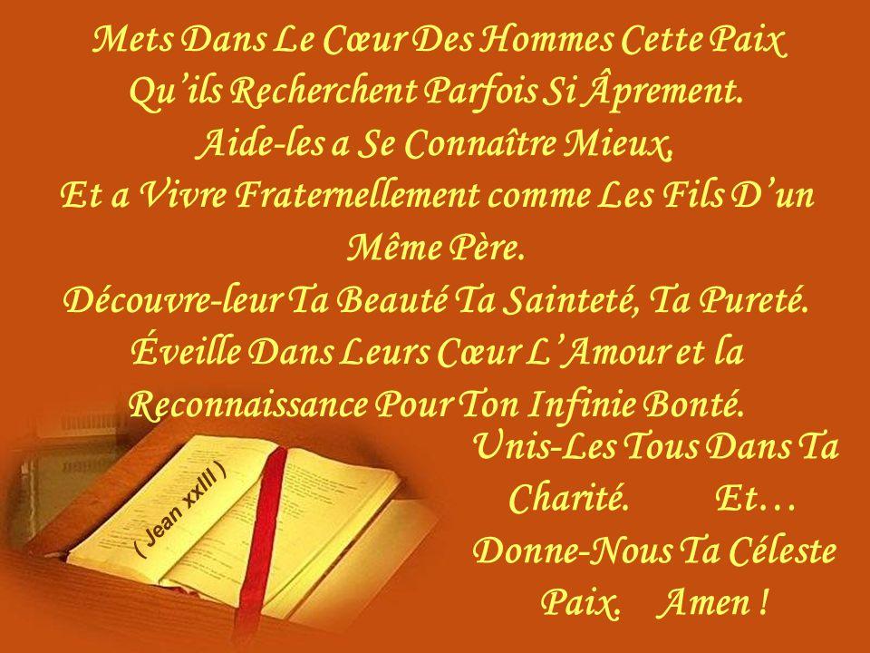 O Doux Jésus De Bethléem Accord-Nous De Communier De Toute Notre Âme….