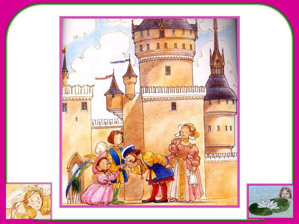 Il faut dire pourtant que larrivée au palais nest pas une entrée triomphale. Si le roi et la reine sont heureux de revoir le Prince Arnaud, quand la p