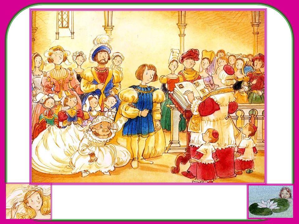 Et les voilà en route vers léglise. Le prêtre pose la question solennelle : « Prince Arnaud, acceptes-tu de prendre cette guenon pour épouse, et prome