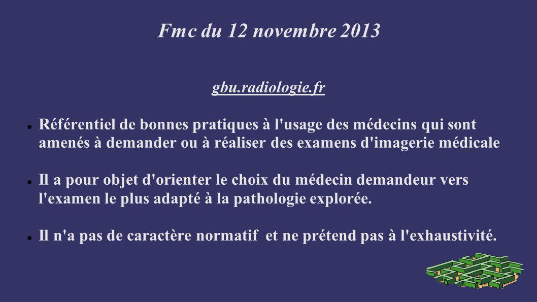 Fmc du 12 novembre 2013 Objectifs Limiter l exposition des patients aux rayonnements ionisants Améliorer la qualité des soins Promouvoir l interdisciplinarité Maitriser les coûts