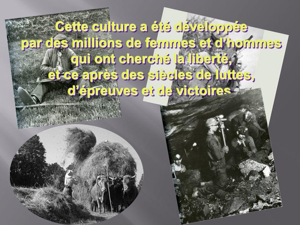 En tant que Français nous avons notre propre culture, notre propre société, notre propre langue et notre propre style de vie. En tant que Français nou