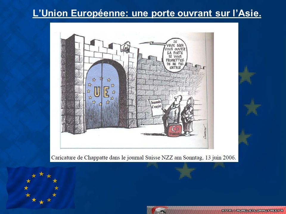 LUnion Européenne: une porte ouvrant sur lAsie.