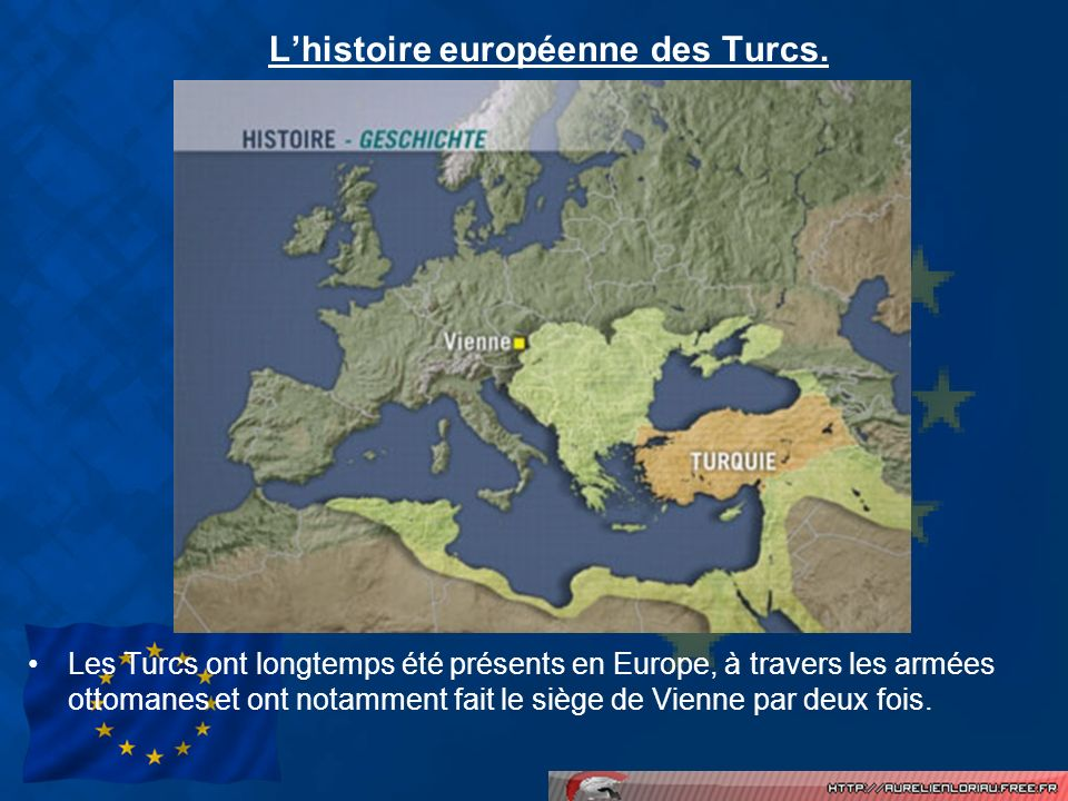 Les influences turques en Europe.