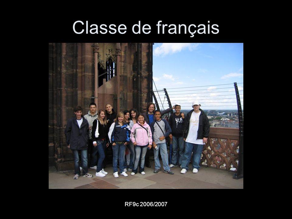 RF9c 2006/2007 Classe de français
