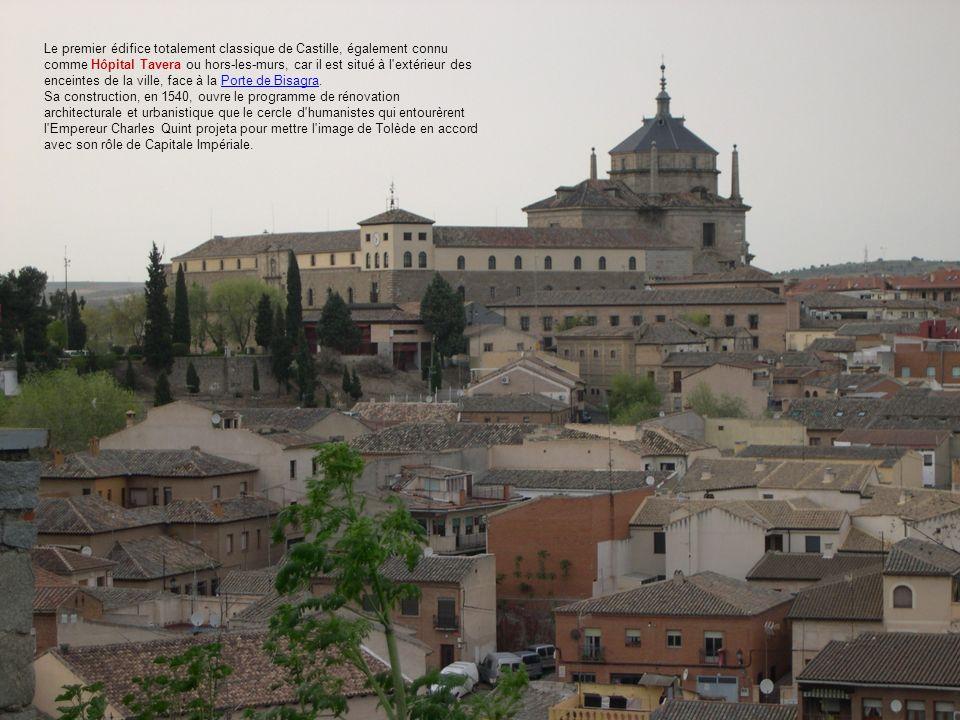 Le premier édifice totalement classique de Castille, également connu comme Hôpital Tavera ou hors-les-murs, car il est situé à l'extérieur des enceint