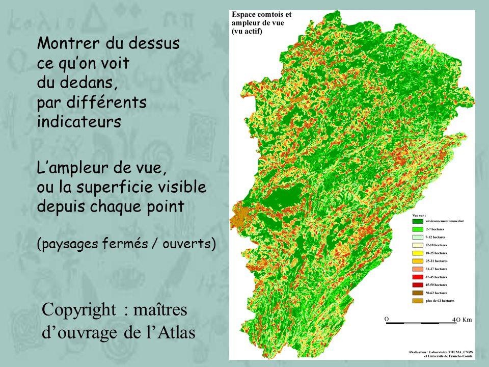 Une ressource pour : 1.modéliser les évolutions du paysage visible, 2.
