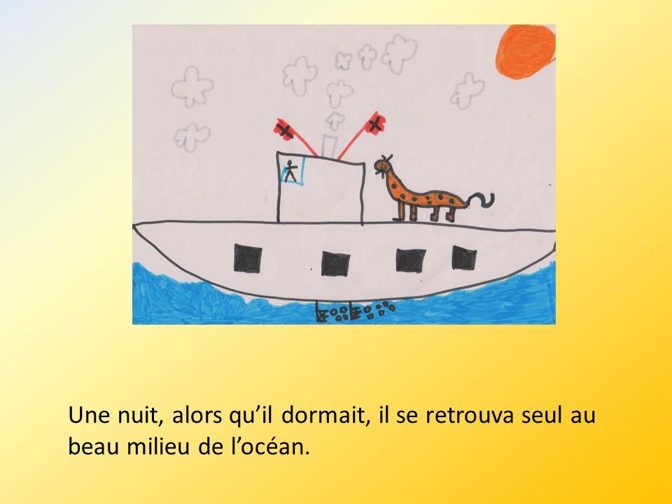 Après un long voyage, Toubel débarqua au Pôle Nord.