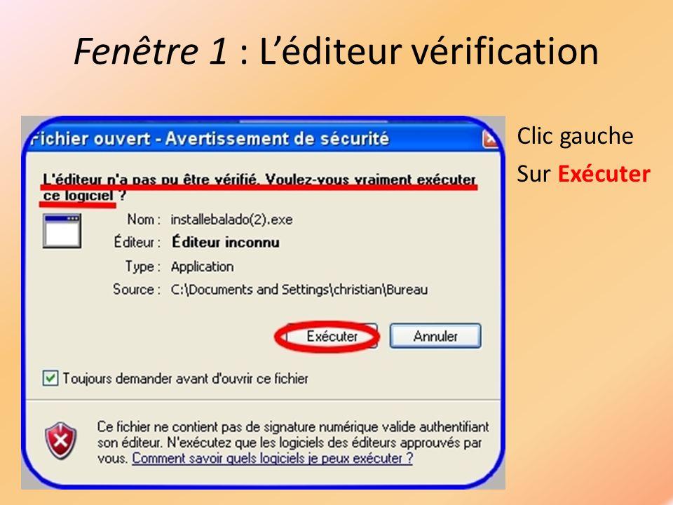 Fenêtre 3: Fichier dinstallation ffdshow Clic gauche Sur Next
