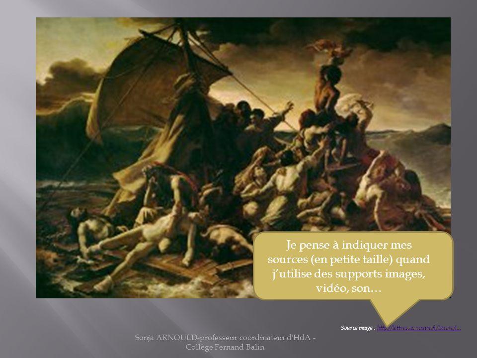 Comment le tableau Le Radeau de la Méduse a-t-il choqué ses contemporains par son réalisme ? Source image : http://lettres.ac-rouen.fr/louvre/i...http