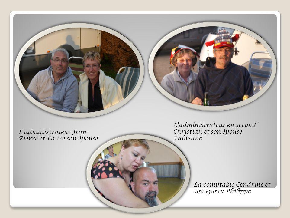 Ladministrateur Jean- Pierre et Laure son épouse Ladministrateur en second Christian et son épouse Fabienne La comptable Cendrine et son époux Philippe