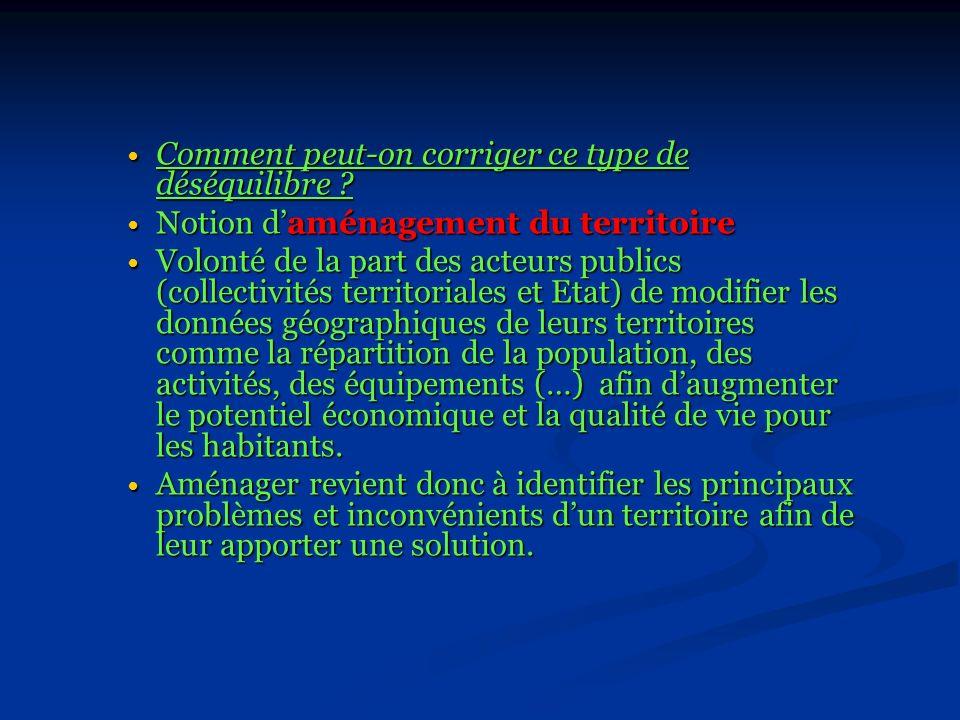 Introduction Le territoire français (551 000 km²) présente de grandes diversités tant du point de vue physique que démographique et économique.