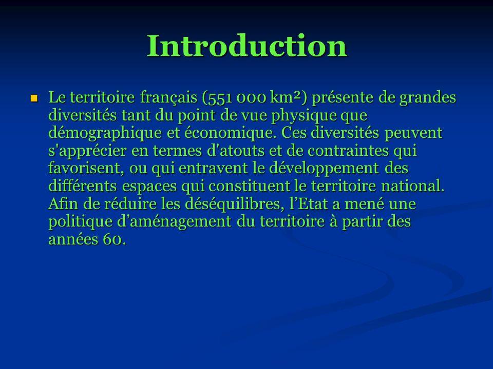 - QUELS SONT LES PRINCIPAUX PROBLEMES ET INCONVENIENTS DU TERRITOIRE FRANÇAIS .