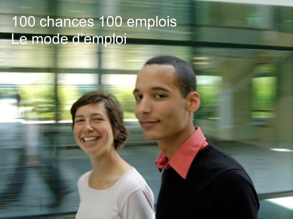 100 chances 100 emplois 4 - Division - Name – Date 100 chances 100 emplois Le mode demploi