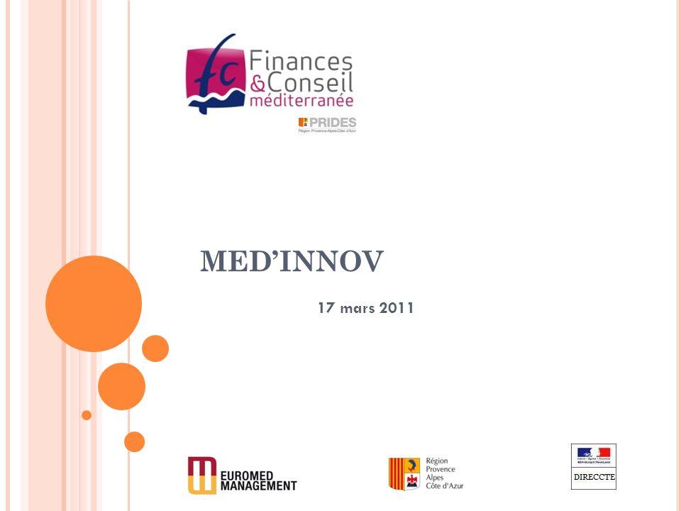 A CTION DE FORMATION « F INANCEMENT DES PME » 1.