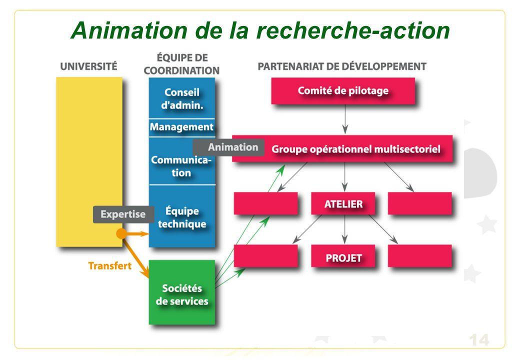 14 Animation de la recherche-action