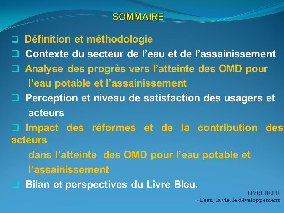 Le droit à leau pour tous Inscrire dans la loi fondamentale du Sénégal la reconnaissance formelle et juridique du droit à leau et à lassainissement à travers : RECOMMANDATIONS DACTIONS POUR AMÉLIORER LACCÈS À LEAU POTABLE ET À LASSAINISSEMENT la gratuité dune quantité deau minimale et de qualité accordée à chaque abonné ; lallocation plus équitable des ressources financières du secteur de leau et de lassainissement entre les régions, les groupes et les usages ; la mise en œuvre de nouveaux dispositifs daccès collectifs à leau à leau potable et à lassainissement des plus pauvres par un prix sensiblement moins élevé que celui des bornes fontaines publiques; la vente de leau potable à un prix que chaque personne peut supporter sans réduire ses possibilités dacquérir dautres biens et services essentiels (abaissement du prix de vente de leau aux BF).