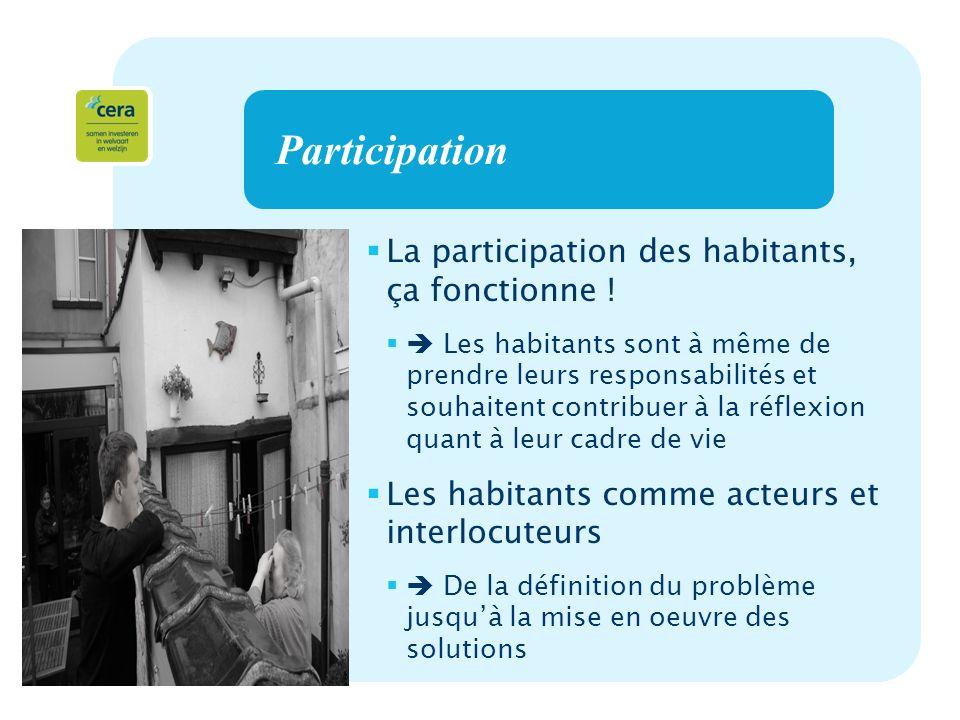 13 Participation La participation des habitants, ça fonctionne .