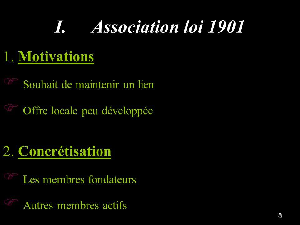 4 I.I.Objectifs et Actions Deux axes complémentaires pour un travail plus efficient 1.