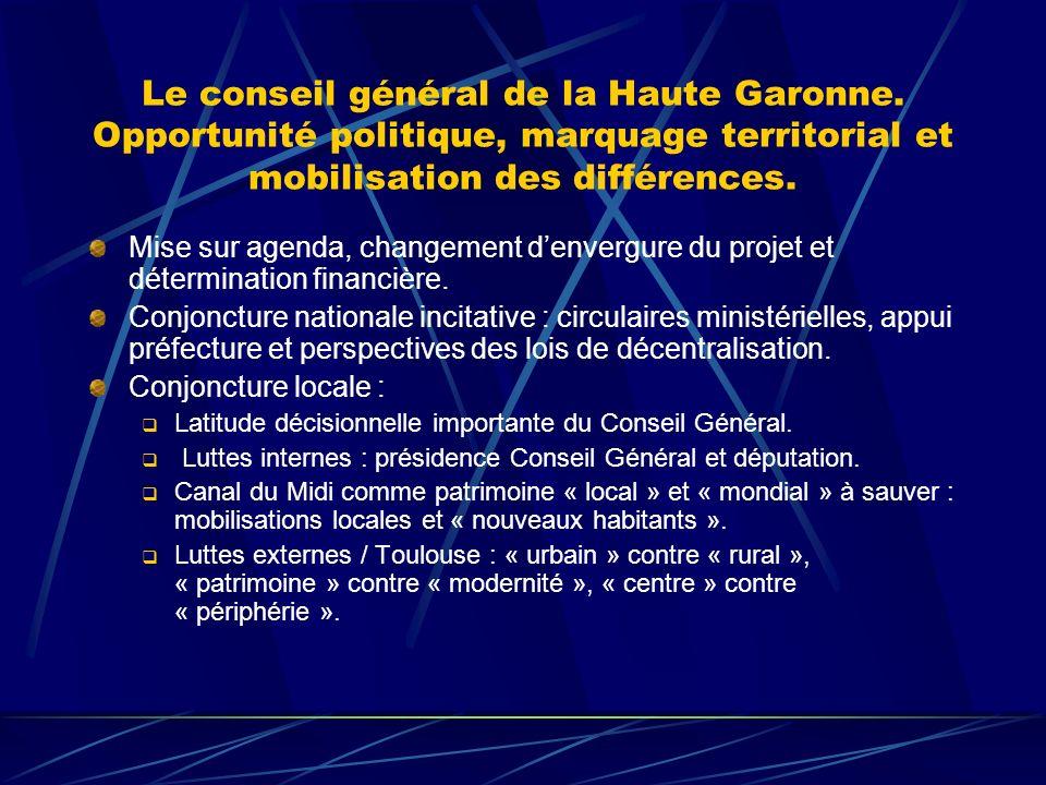 Le conseil général de la Haute Garonne.