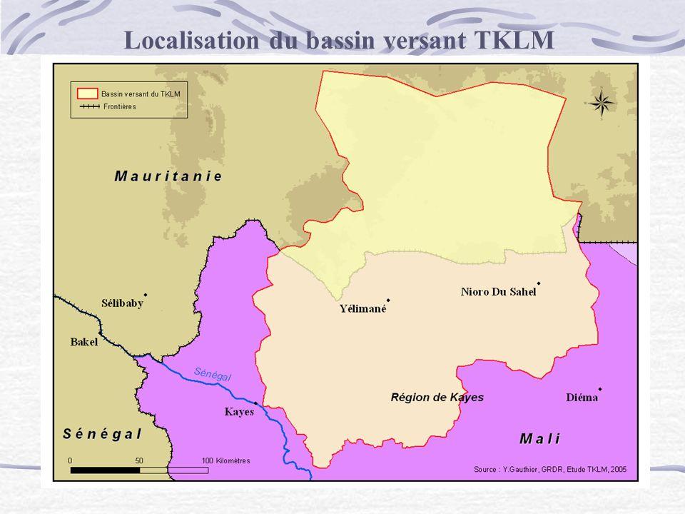 Localisation du bassin versant TKLM