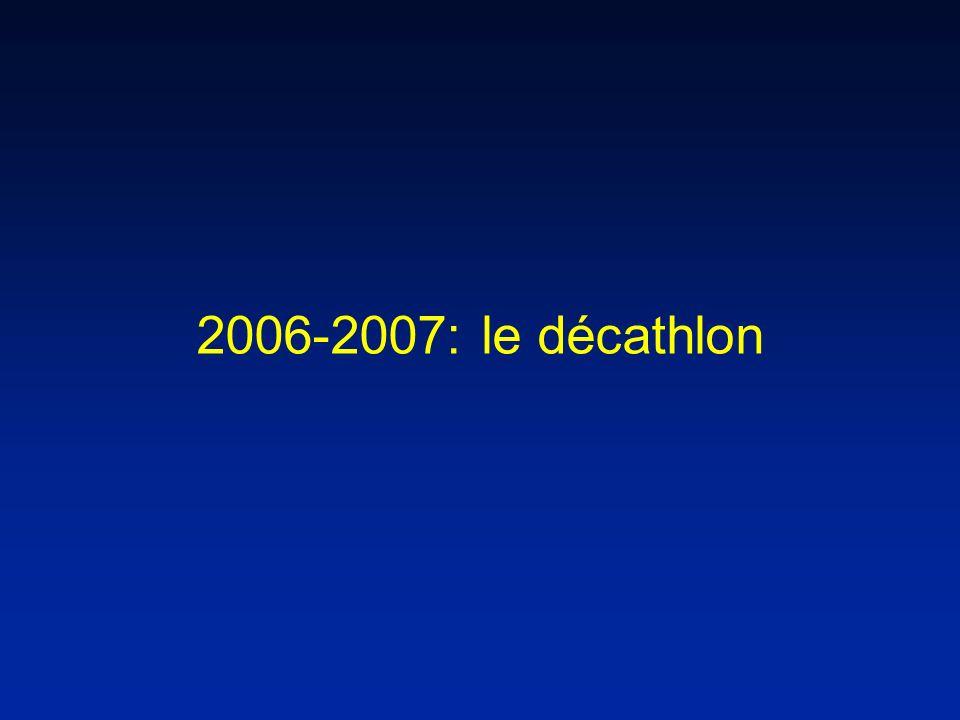 2006-2007: le décathlon