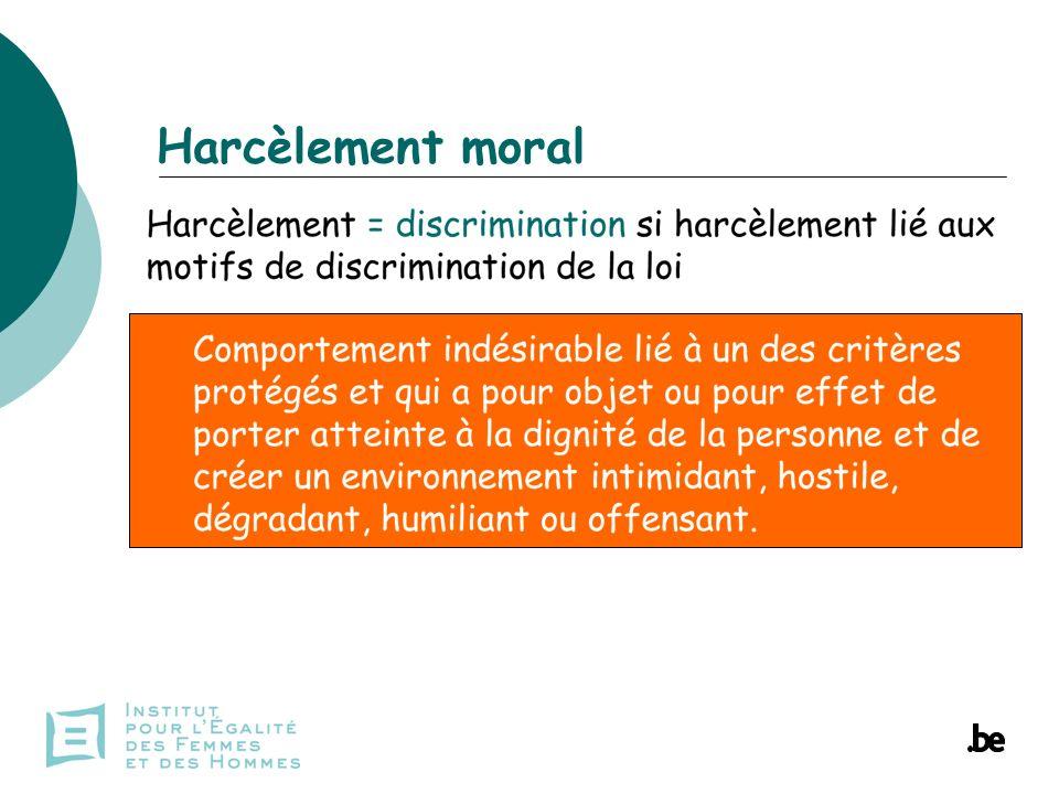 Harcèlement moral