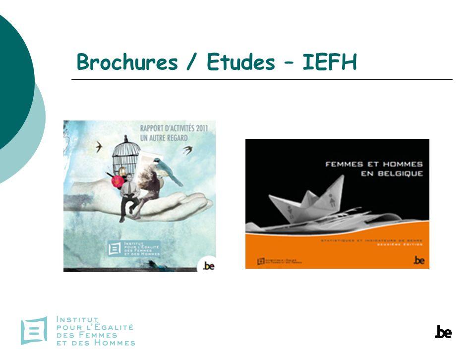 Brochures / Etudes – IEFH