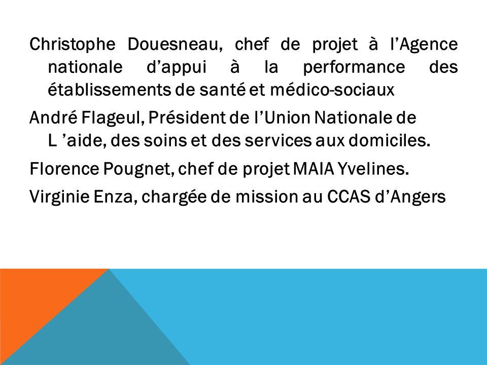 Christophe Douesneau, chef de projet à lAgence nationale dappui à la performance des établissements de santé et médico-sociaux André Flageul, Présiden