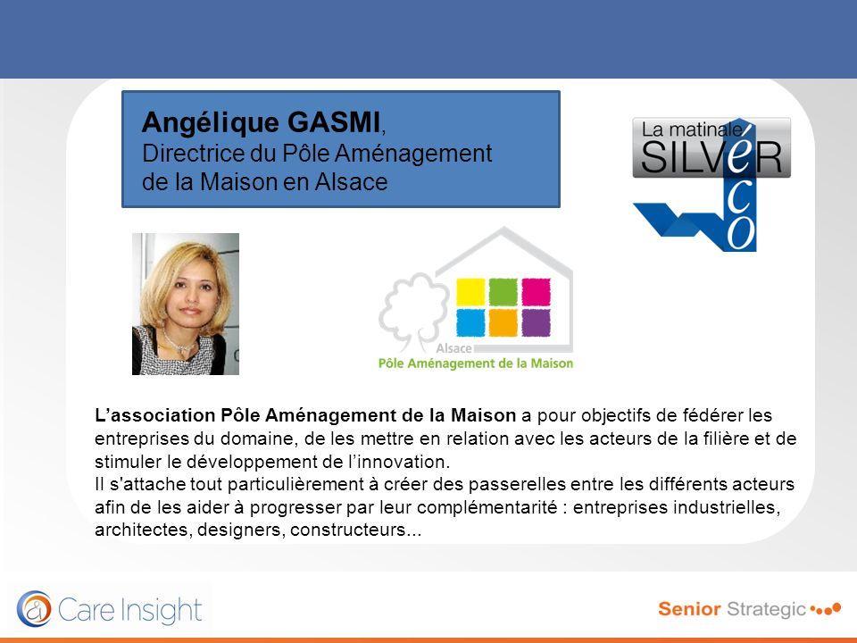 Angélique GASMI, Directrice du Pôle Aménagement de la Maison en Alsace Lassociation Pôle Aménagement de la Maison a pour objectifs de fédérer les entr