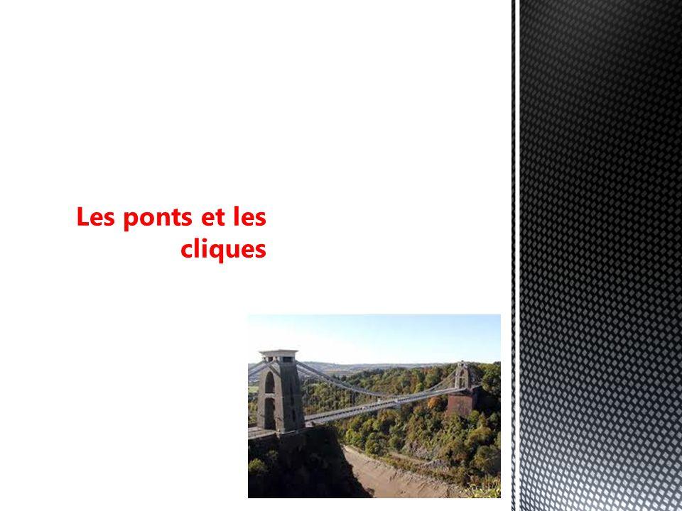 Les ponts et les cliques