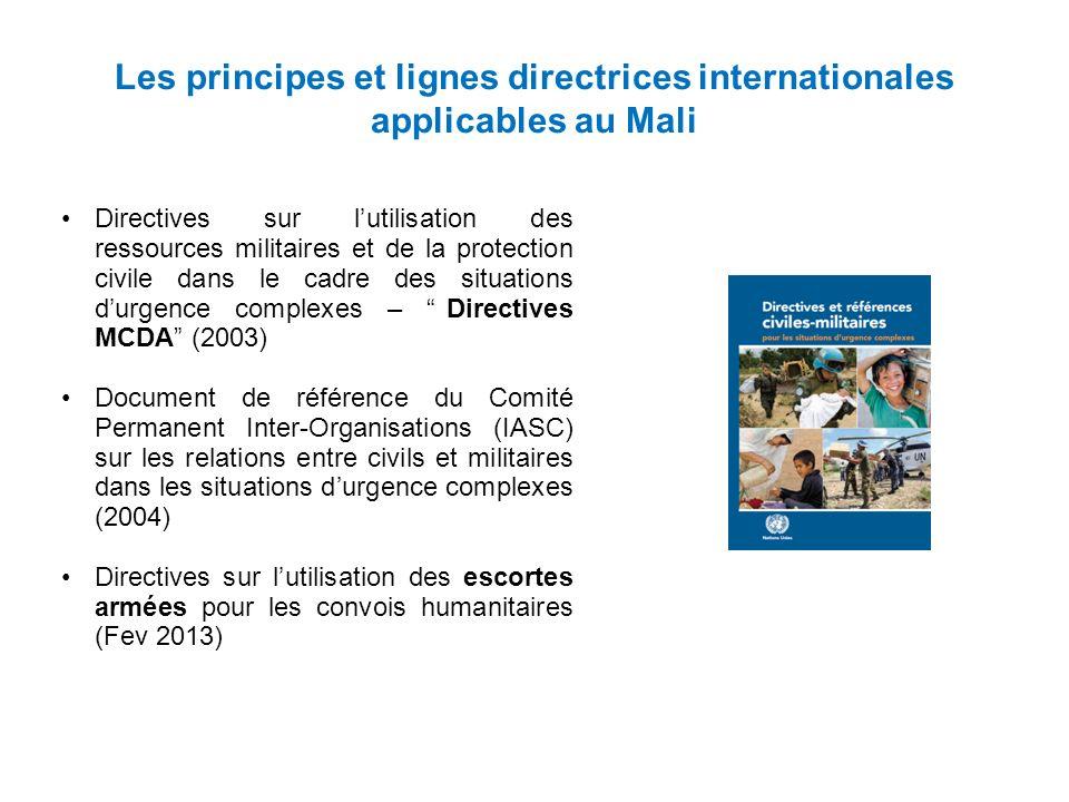 Les Escortes Armées Règle Générale En règle générale les convois humanitaires nutilisent pas descortes armées.