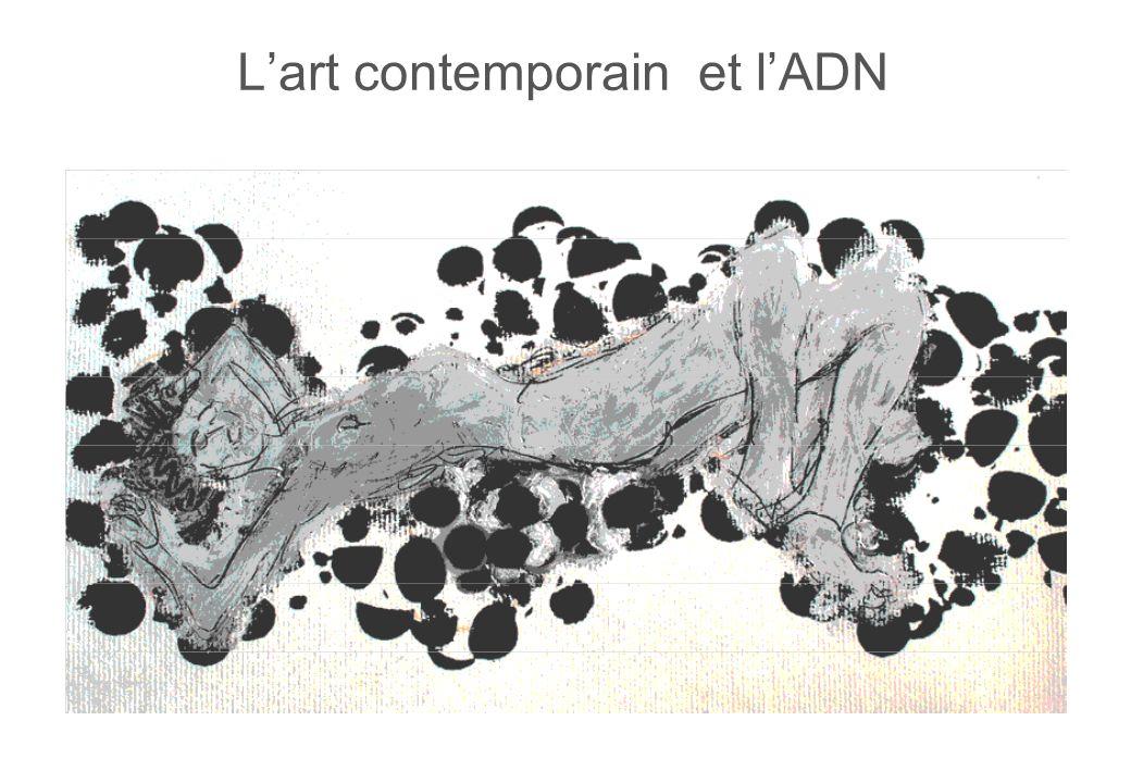 Lart contemporain et lADN