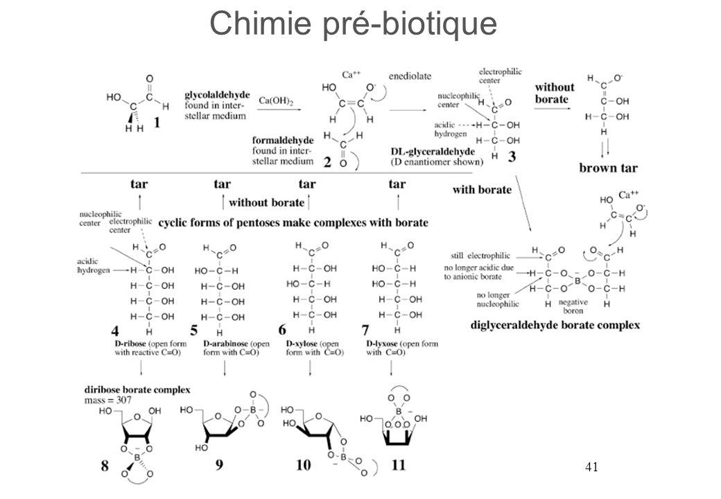41 Chimie pré-biotique