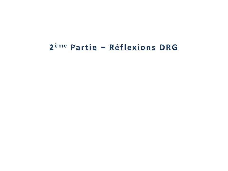 2 ème Partie – Réflexions DRG