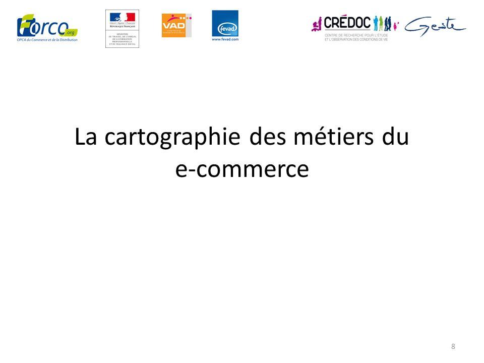 La cartographie des métiers du e-commerce 8