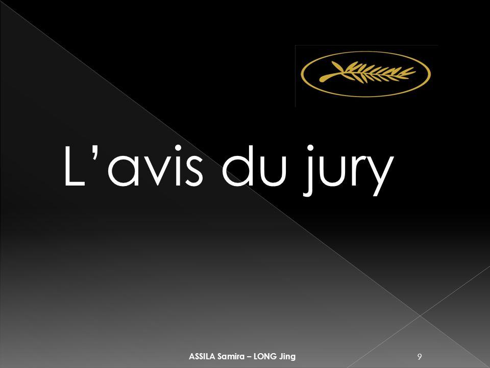 9 ASSILA Samira – LONG Jing Lavis du jury