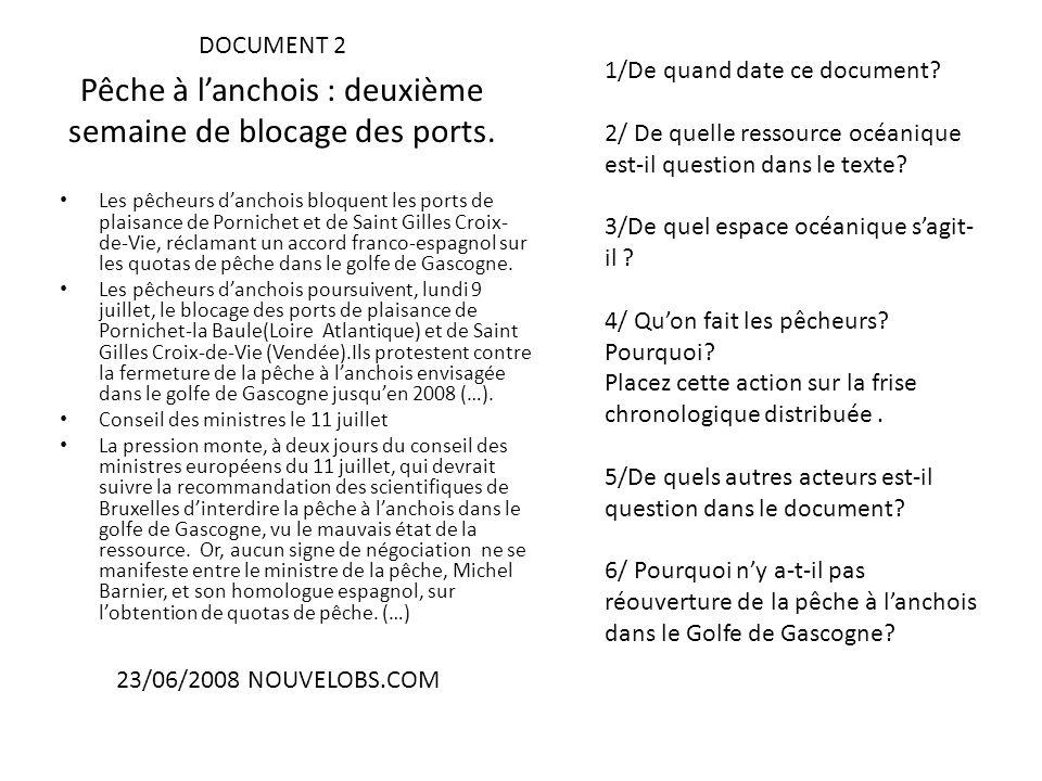 Pêche à lanchois : deuxième semaine de blocage des ports. Les pêcheurs danchois bloquent les ports de plaisance de Pornichet et de Saint Gilles Croix-