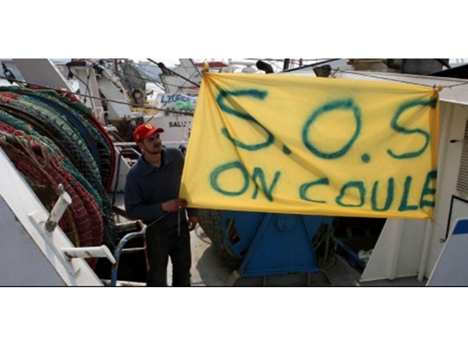 Photo: manifestation des pêcheurs (social)