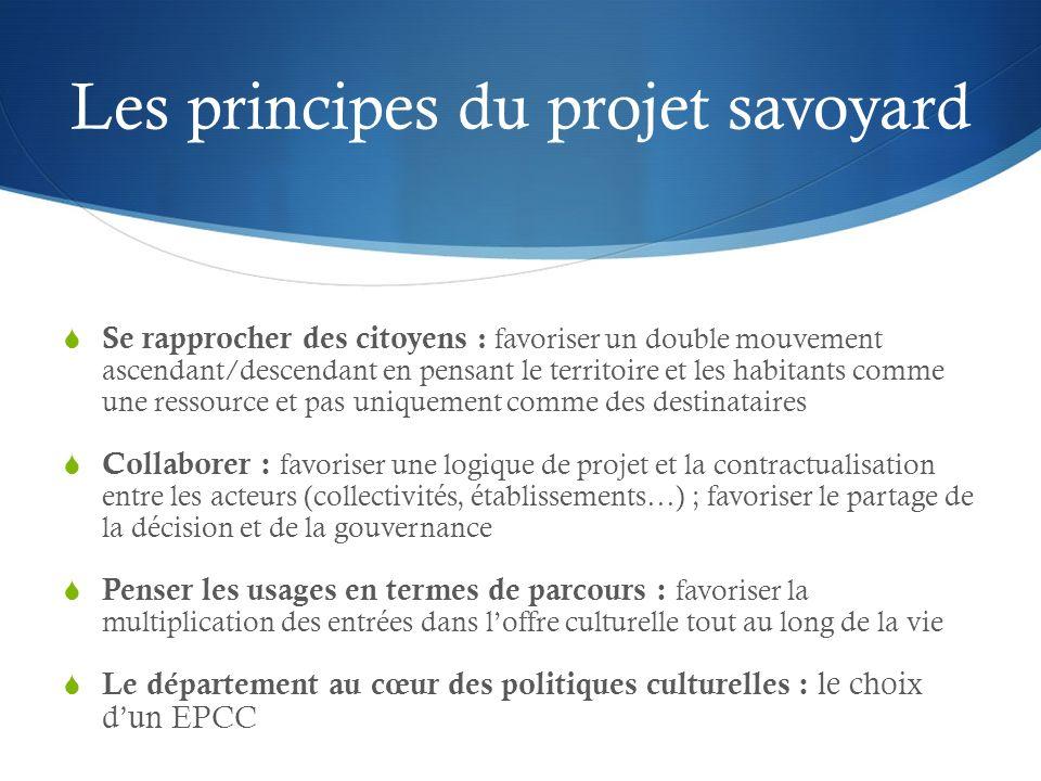 Deux outils innovants dingénierie culturelle La création dun EPCC : Diapason Les conseils culturels de territoires coordonnés par un conseil culturel départemental
