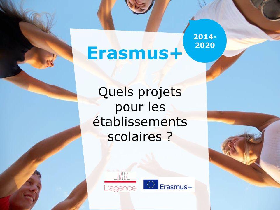 Erasmus+ Quels projets pour les établissements scolaires ?