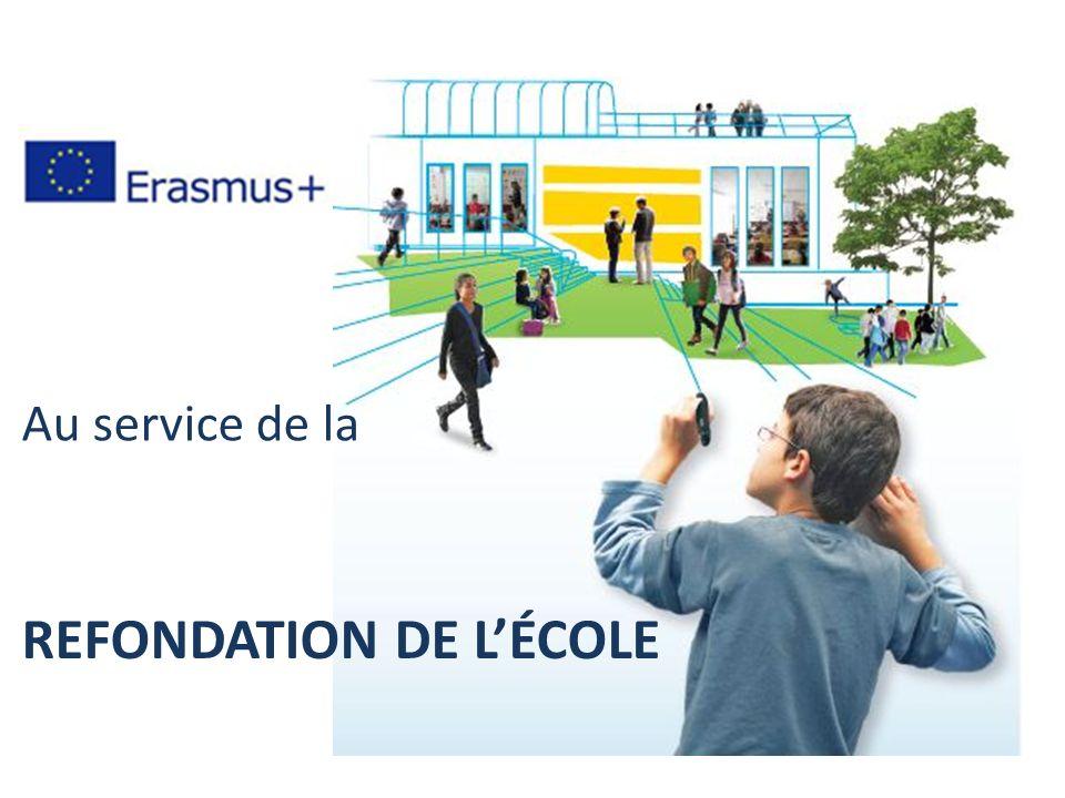 REFONDATION DE LÉCOLE Au service de la