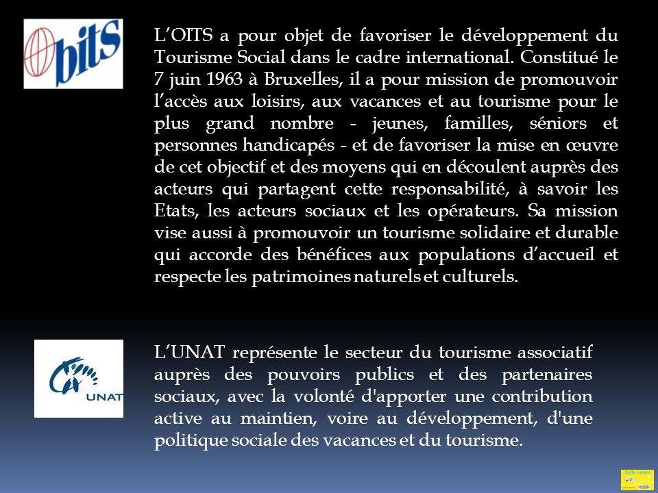 LANCAVTT est adhérente à : lOrganisation International du Tourisme Social (OITS) lUnion Nationale des Associations du Tourisme Social 13